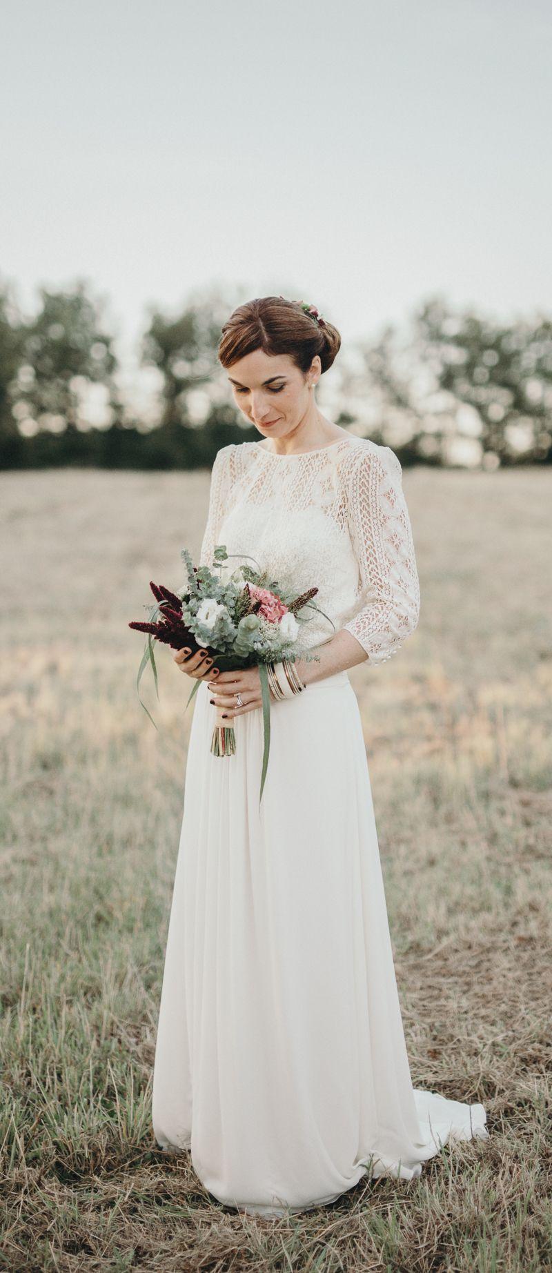 Bridal Portrait & Laure de Sagazan Dress