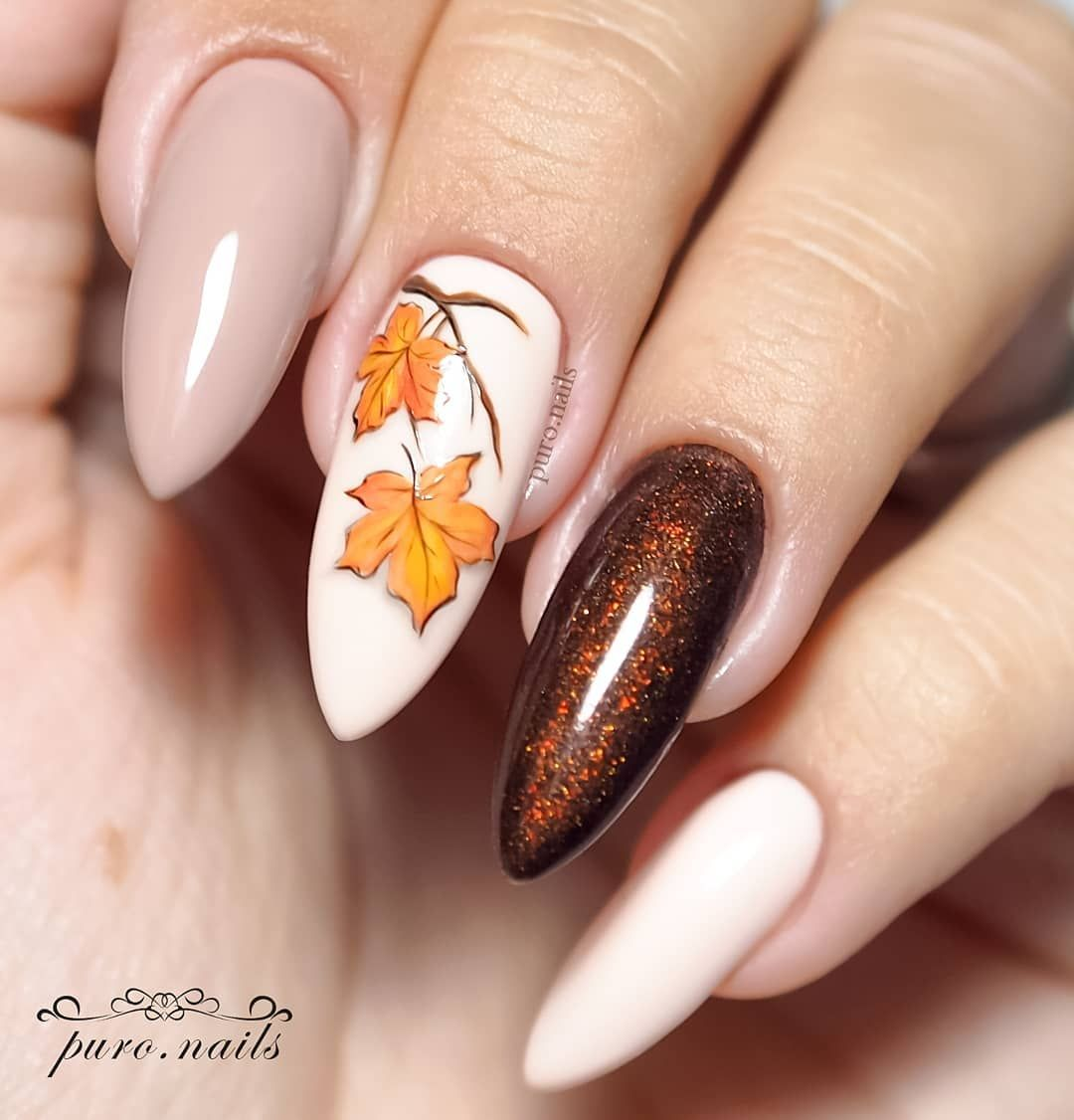 Polubienia 1 278 Komentarze 64 Puro Nails Puro Nails Na Instagramie I Know They Are Not Per Fall Acrylic Nails Color For Nails Fall Nail Art Designs