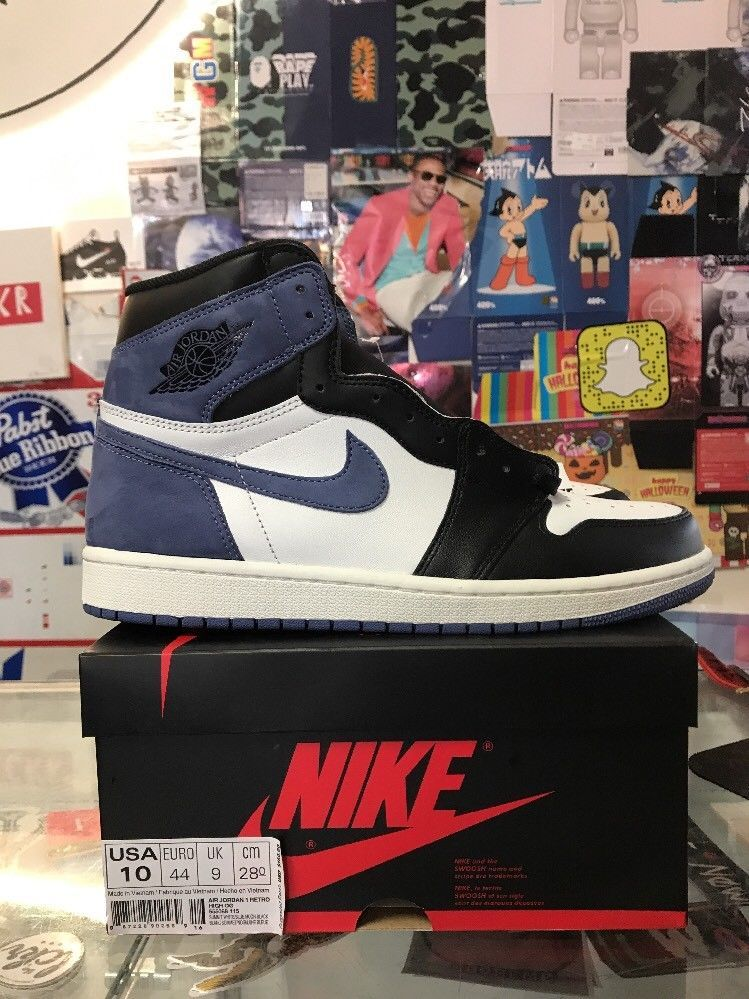 104a8ff56334c2 Find this Pin and more on Men s Shoes by Men s Shoes. Air Jordan 1 Retro  High OG Blue Moon Size 10 (eBay Link)