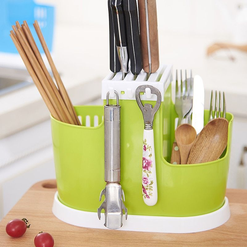 Multifunctional Kitchen Storage Rack Kitchen Knife Fork Shelf