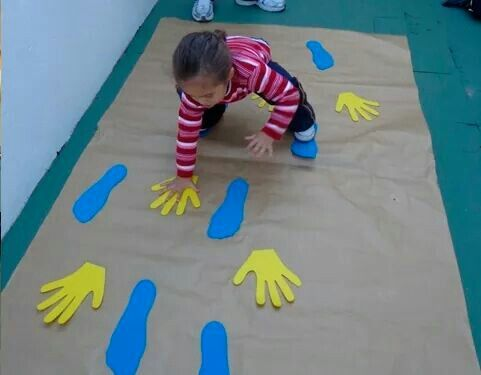Circuito Juegos Para Niños : Juego de psicomotricidad gruesa educacion infantil niños de