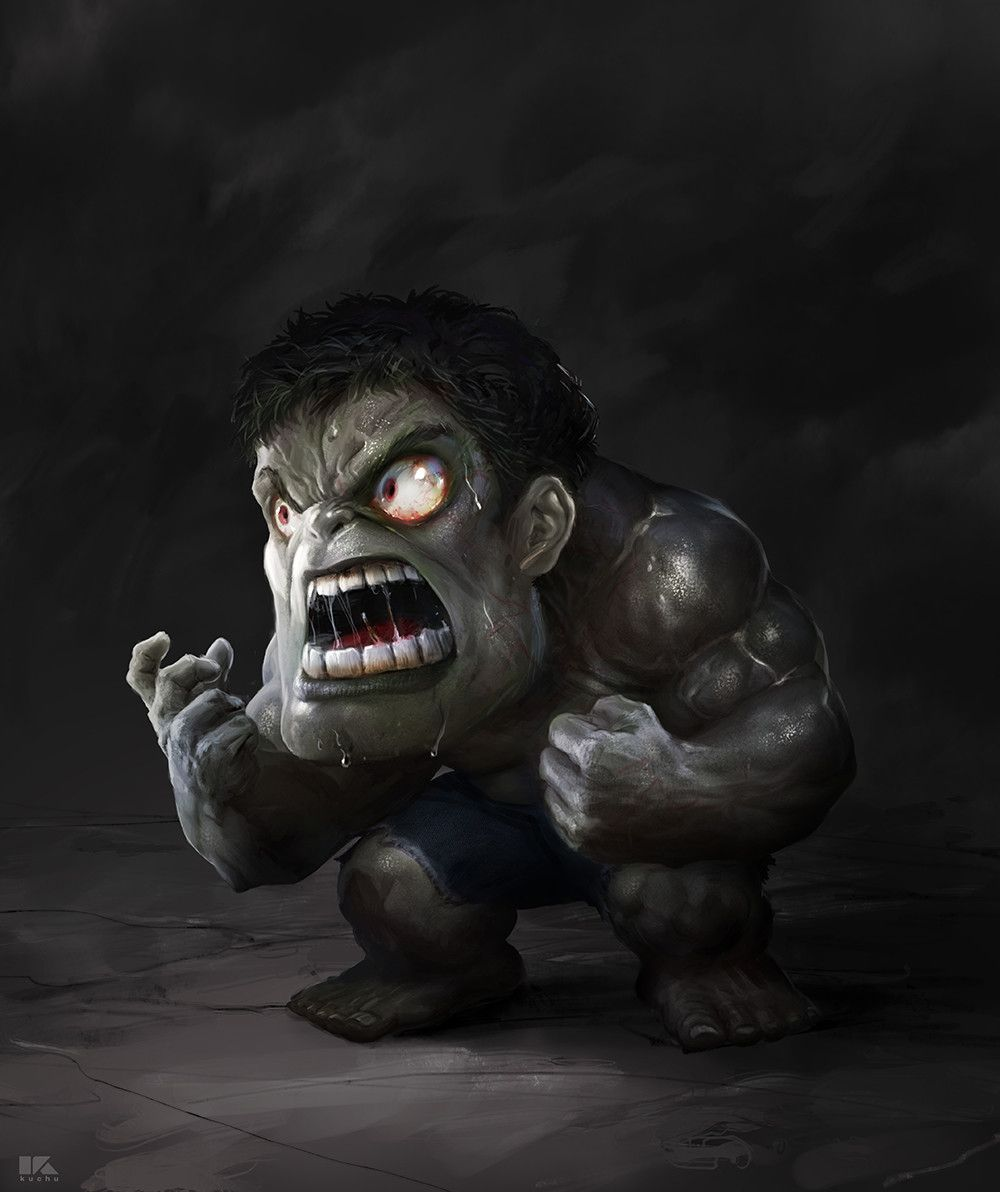 #Hulk #Fan #Art. (Gray Hulk) By: Kuchu Pack. (THE * 5 * STÅR * ÅWARD * OF: * AW YEAH, IT'S MAJOR ÅWESOMENESS!!!™) ÅÅÅ+
