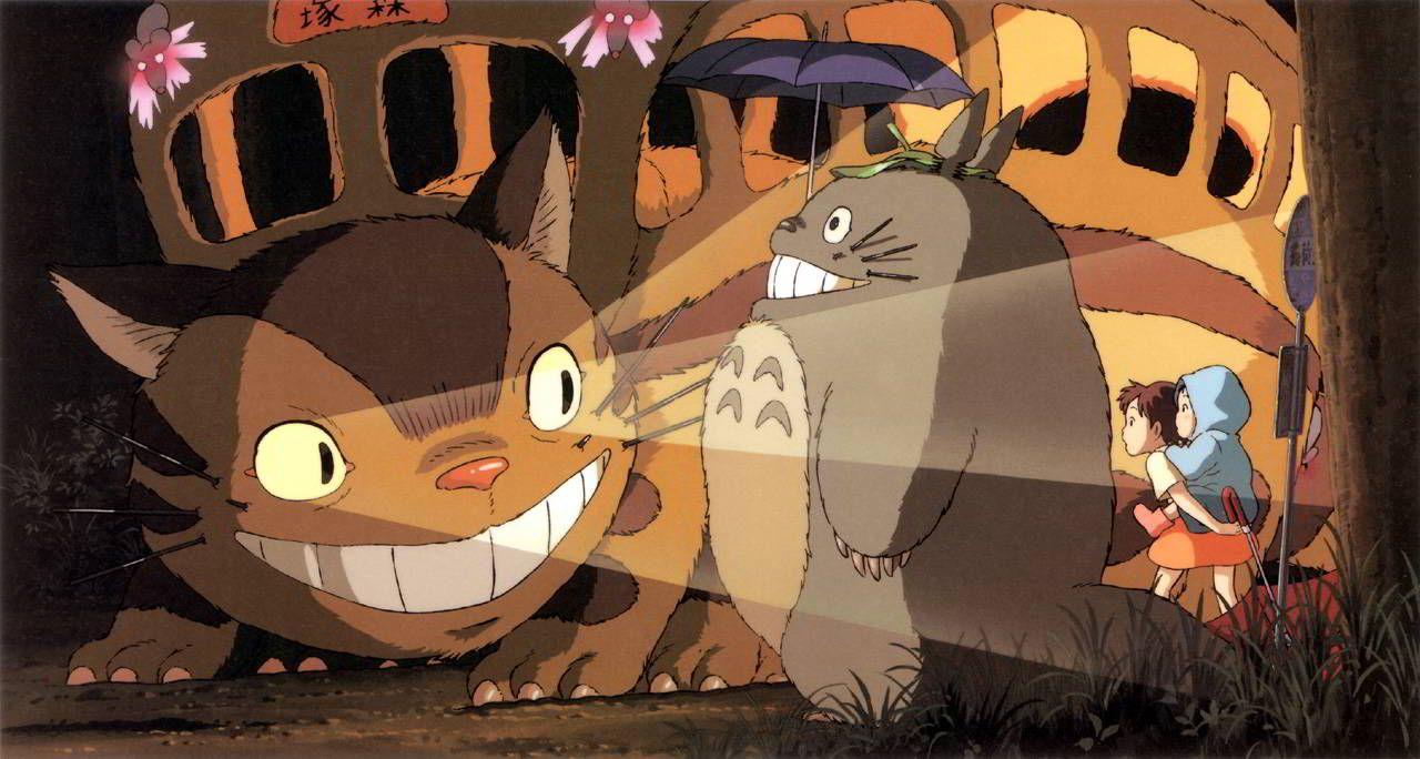 Download My Neighbour Totoro Vr Bus Stop Scene Oculus Rift