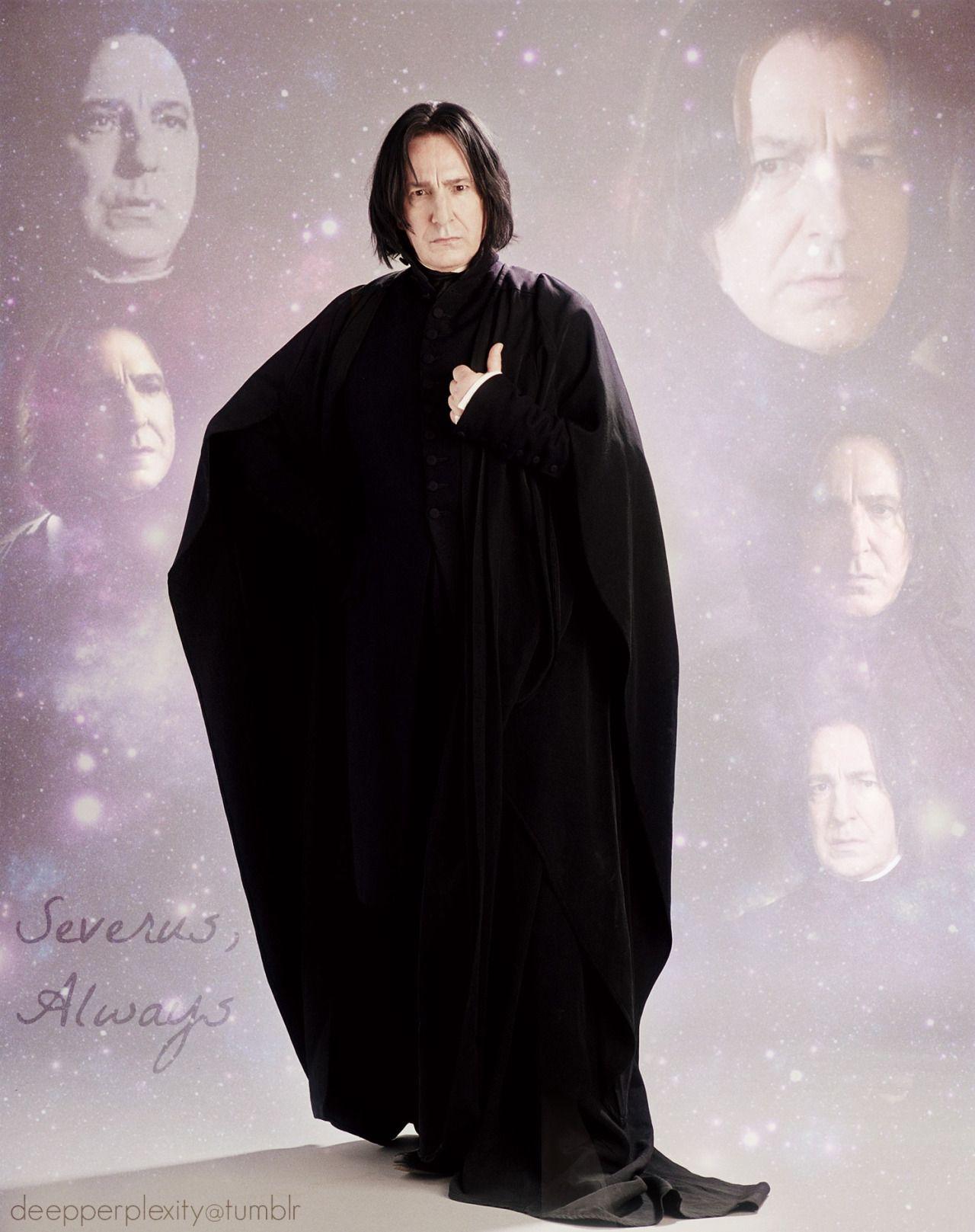 Deepperplexity Severus Snape Harry Potter Professoren Alan Rickman Severus Snape