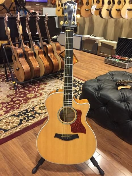 Taylor 614ce 2008 Excellent Cond Acoustic Electric Guitar Guitar Acoustic Electric