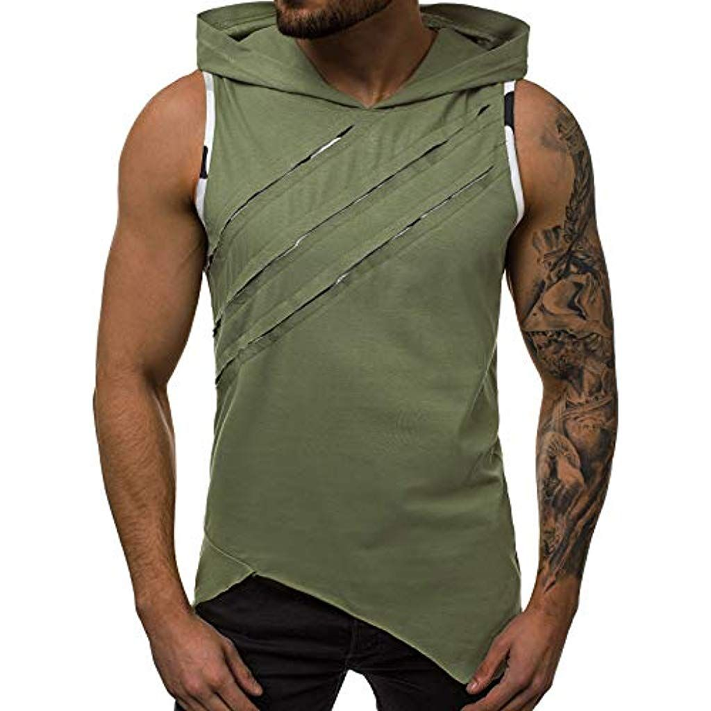 OZONEE Mix Herren Tanktop Tank Top Tankshirt T Shirt