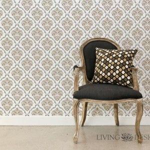plantillas decorativas para pintar y decorar paredes como papel tapiz