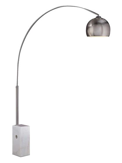 Sara arc floor lamp by pangea home at gilt