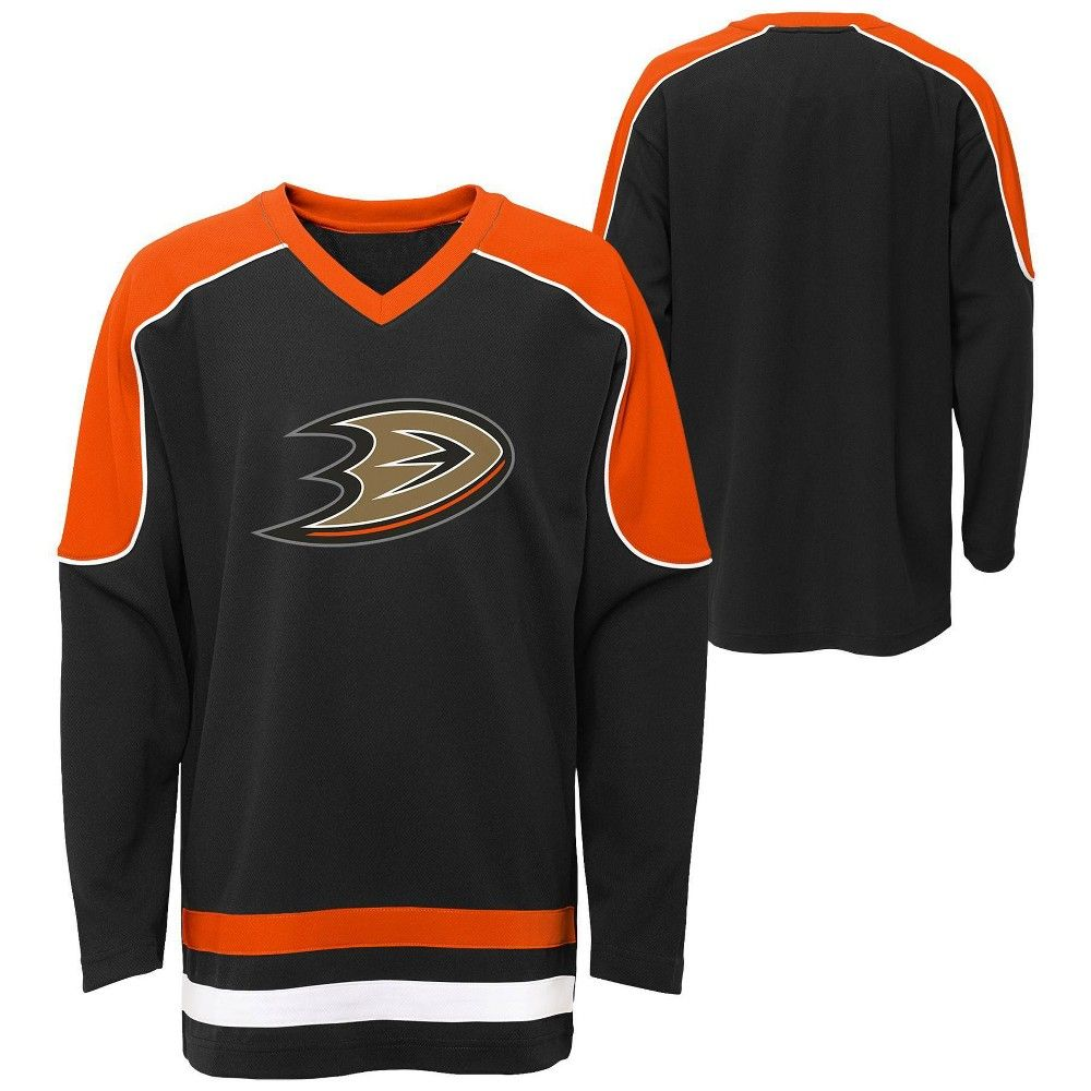 NHL Anaheim Ducks Team Logo Hoodie Youth Kids Fanatics
