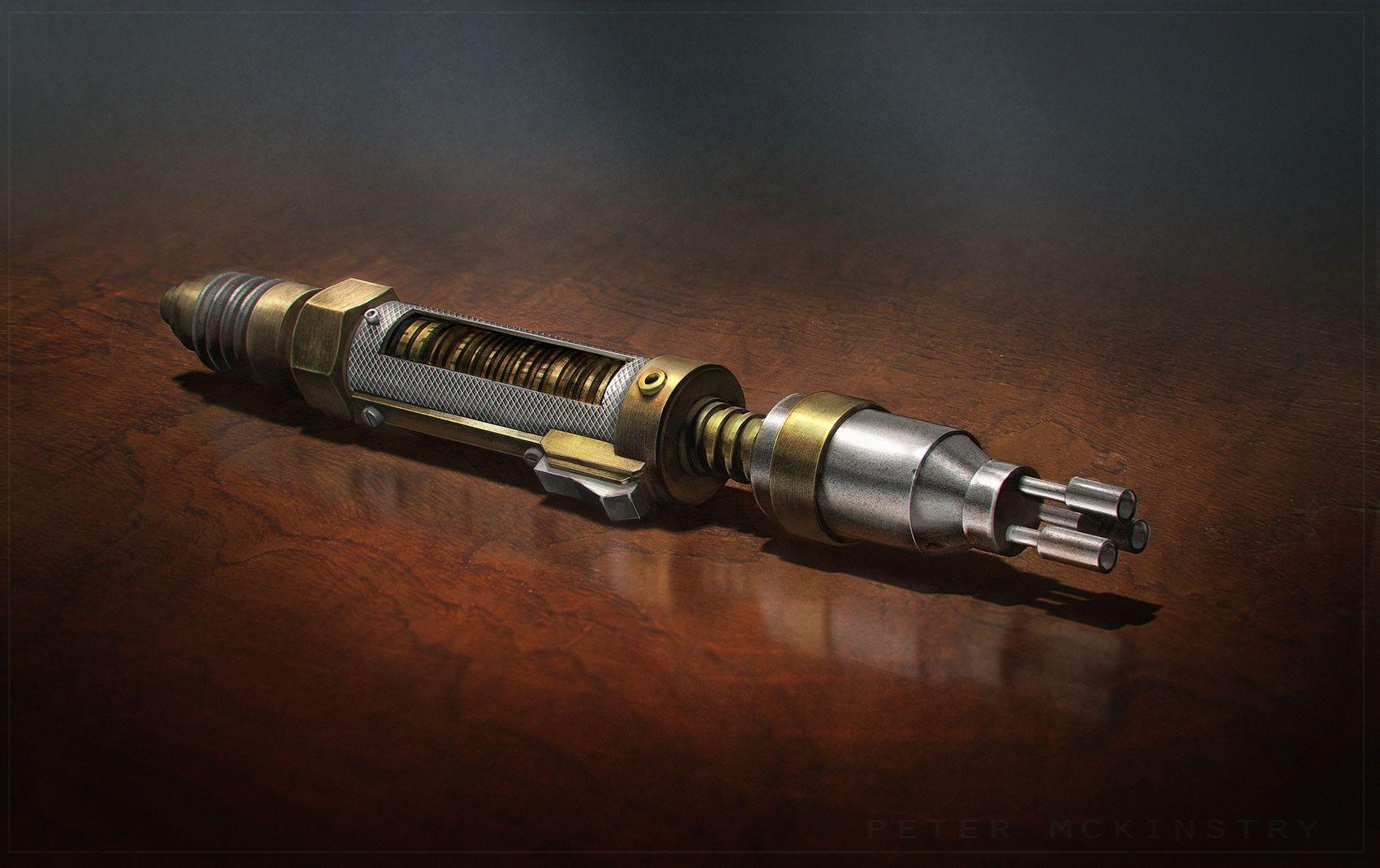 Artstation Laser Screwdriver Peter Mckinstry Screwdriver Doctor Doctor Who