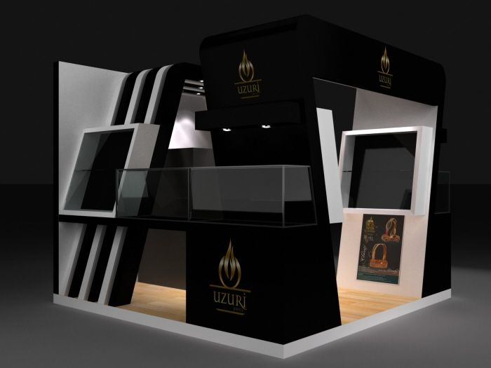 Jewelry Exhibition Stand Design : Jewellery exhibition stall by vishal champanerkar at coroflot.com