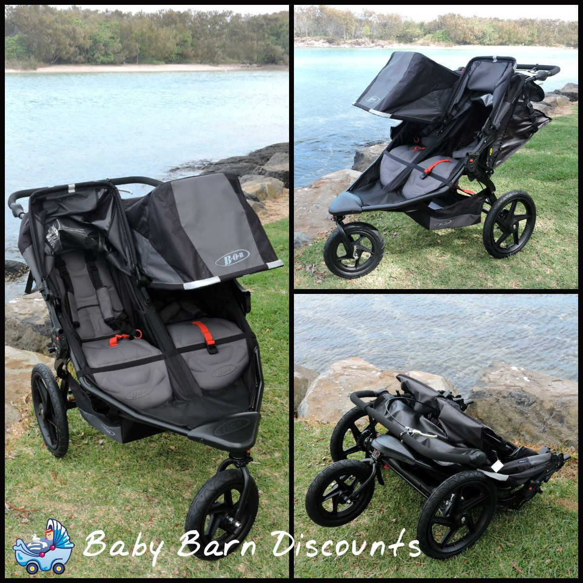 BOB Revolution Duallie Pro Stroller is perfect for any