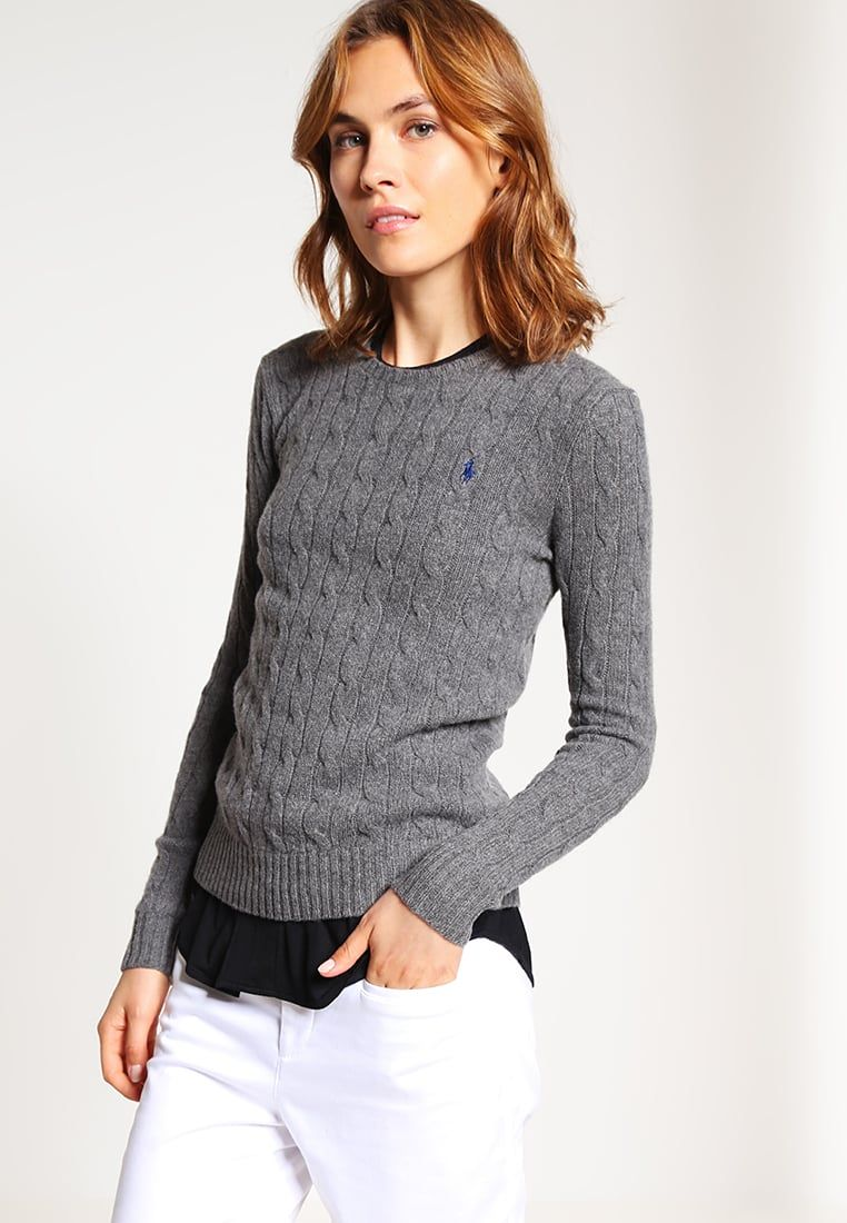 Ralph Julianna Pullover Polo Heather Femme Antique Lauren Pull ZuXkPi