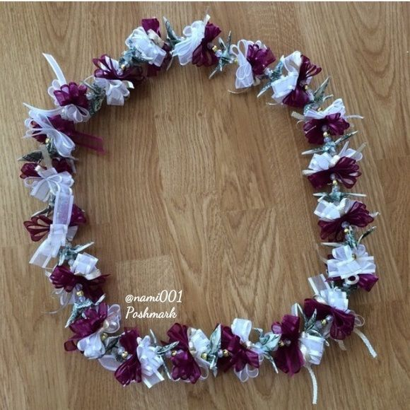 garland party of flower fancy dress necklace pcs lei hawaiian hl
