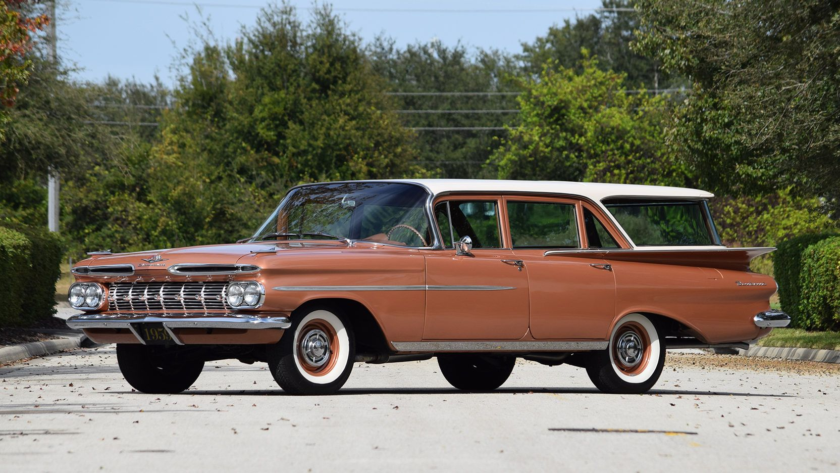1959 Chevrolet Brookwood Wagon - 1 - Print Image | Cool Cars (and ...