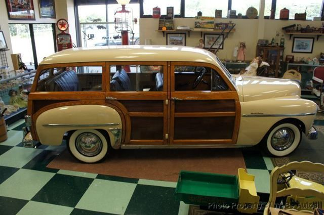 1950 Used Plymouth Special Delux Woodie For Sale At Webe Autos