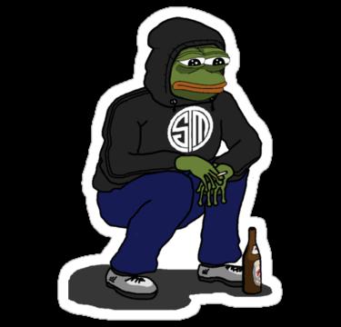 Tsm Hoodie Pepe Pepe Stickers