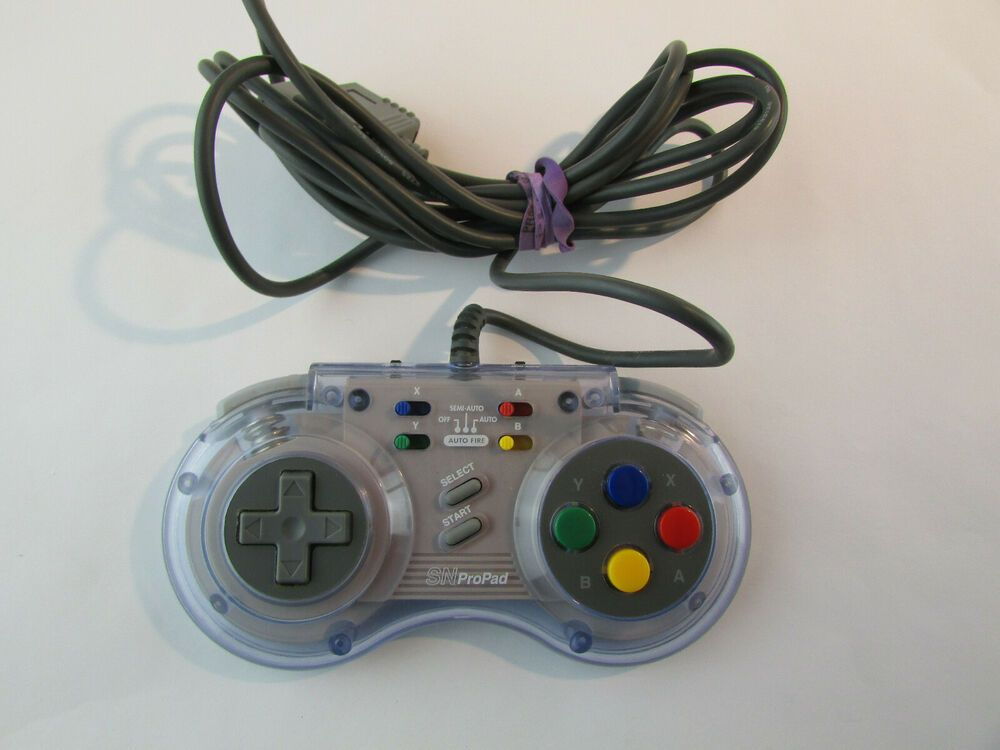 Sv 334 Interact Sn Pro Pad Controller For Super Nintendo Clear