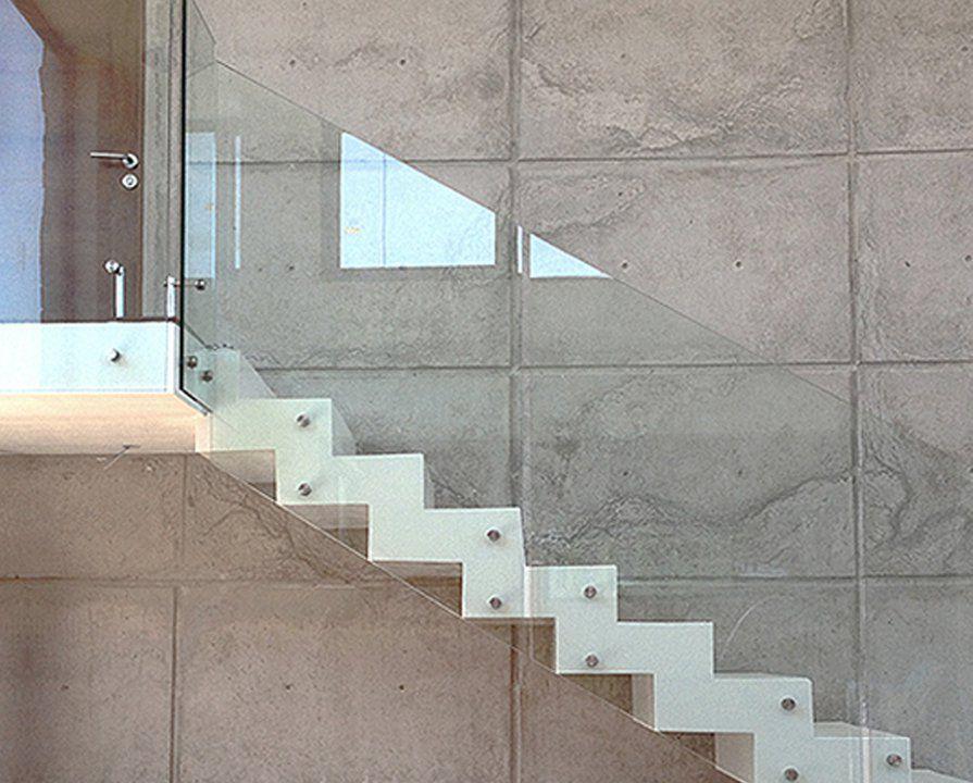 Barandas de agliati cristales barana interior casa - Barandas escaleras modernas ...
