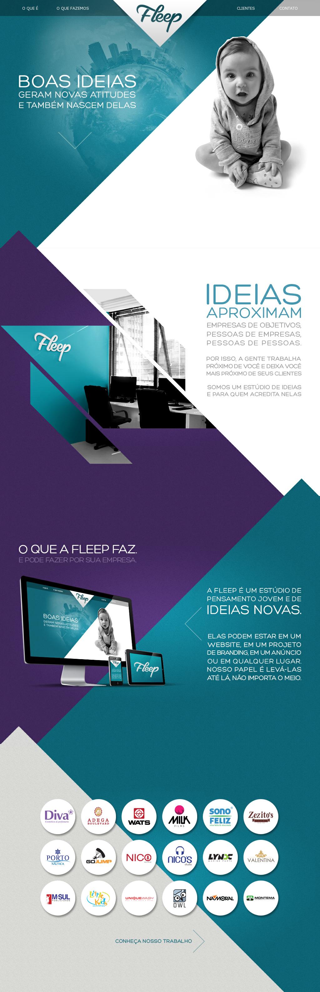 New Single Page Website Http Www Fleep Art Br Web Design Inspiracao Web Design Designs De Websites