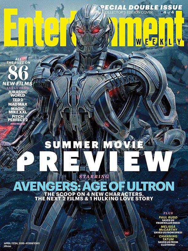 Capa da Entertainment Weekly revela Paul Bettany como o Visão