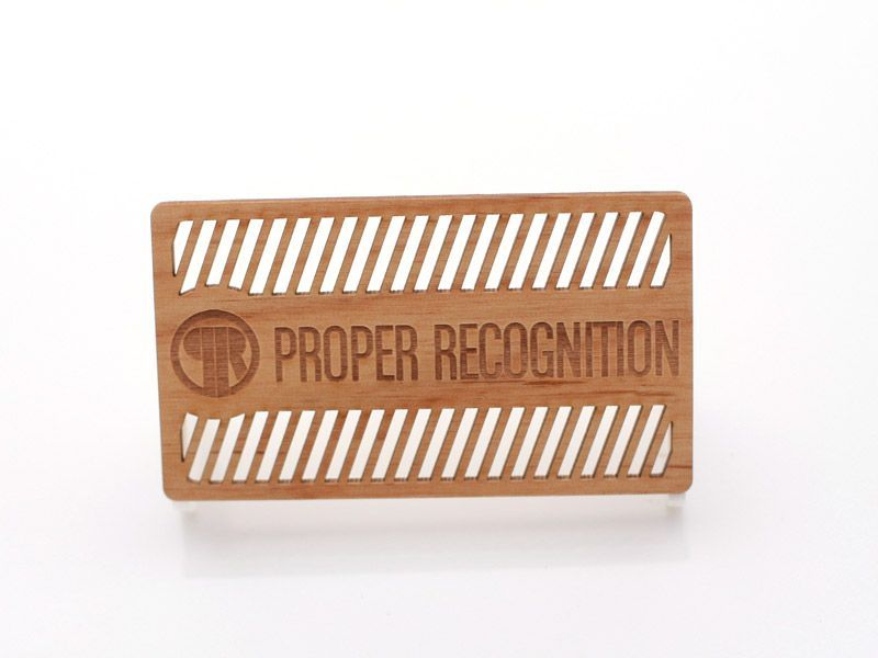 Crazy cut out wooden business card. Those would be cool to hand to ...