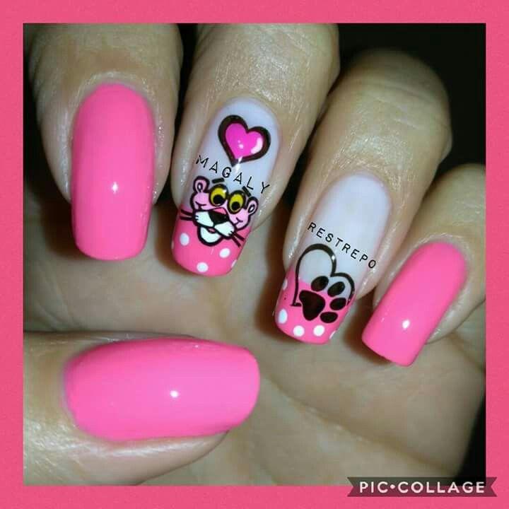 Pin de Viviana Chavez en Uñas sencillas | Pinterest | Uñas rosas ...