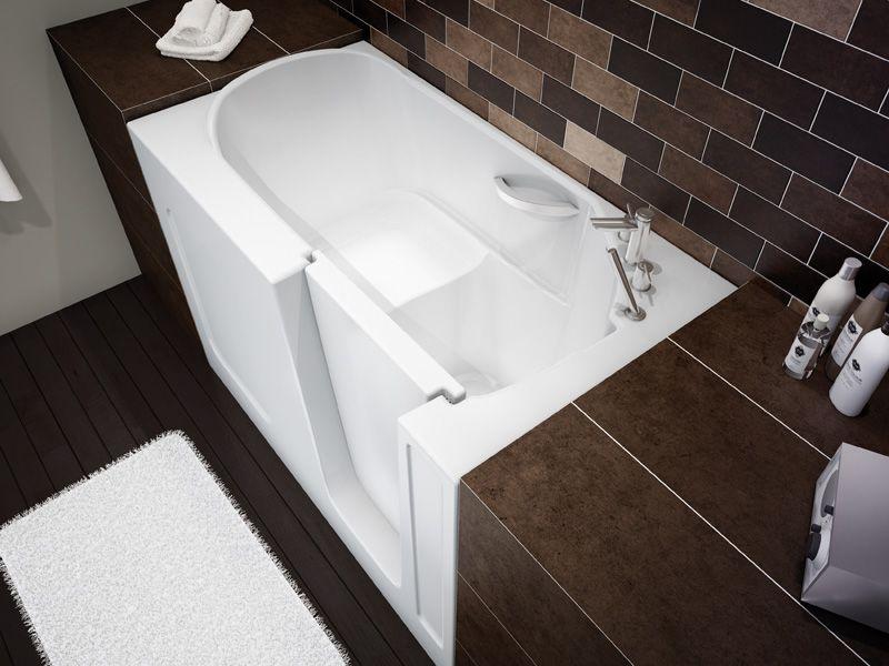 Maax Professional Walk In Bathtub Small Bathroom Solutions Bathroom Solutions Small Bathroom