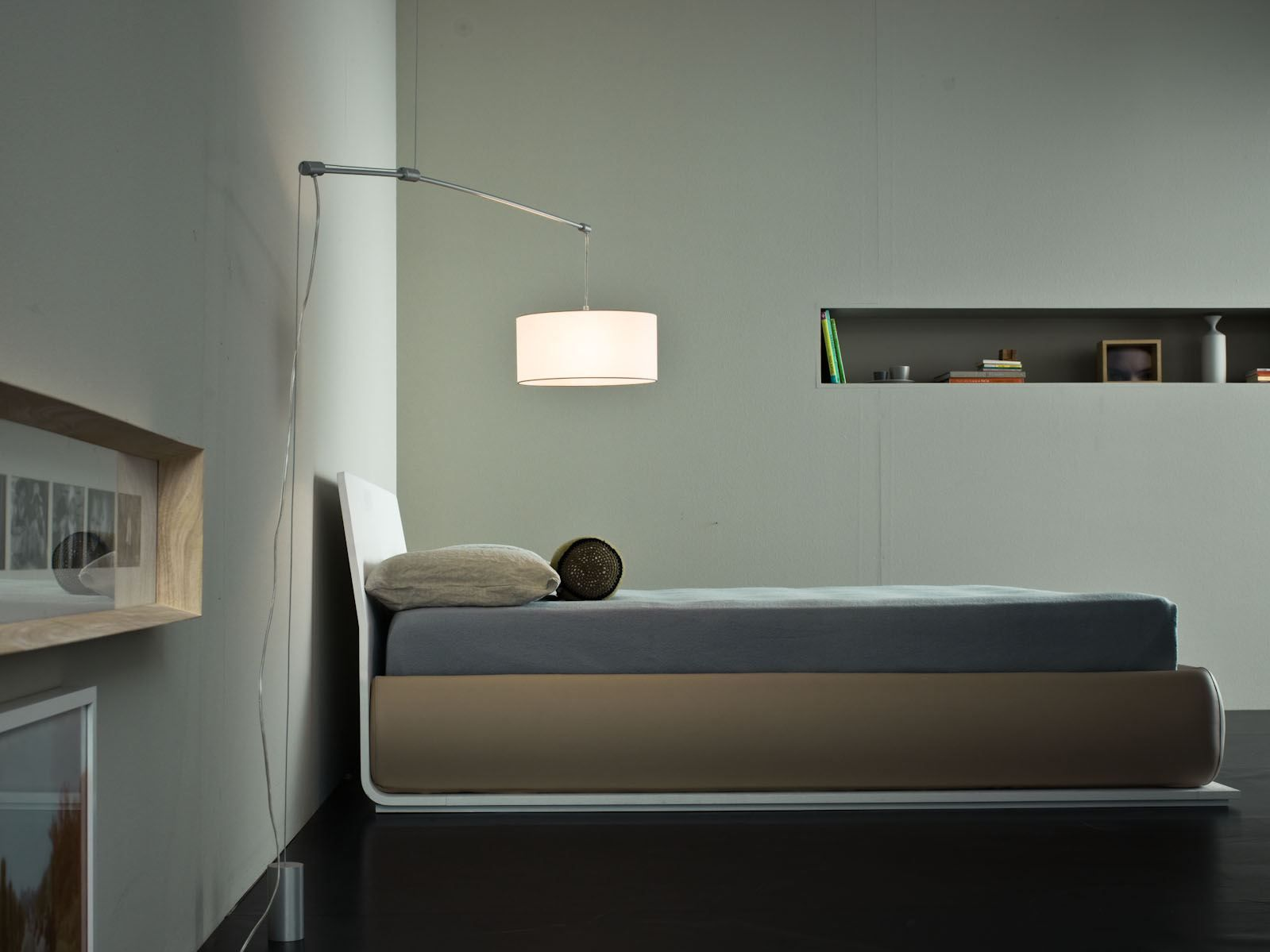 OAK BED CHARME | DOUBLE BED BEDS COLLECTION BY GIELLESSE