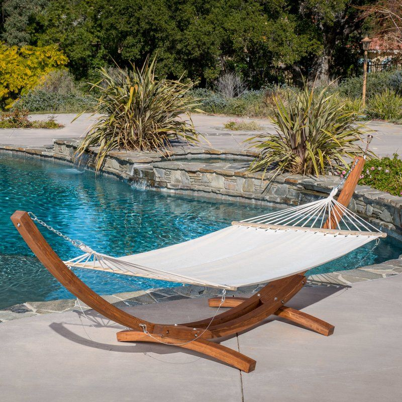 Kouklia Canvas Hammock With Stand (With Images)