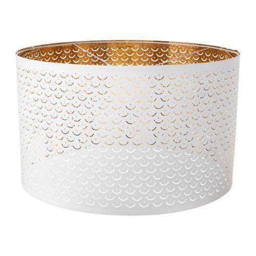 blancocolor NYMÖ Pantalla bronce para lámpara LUMGSpzqV