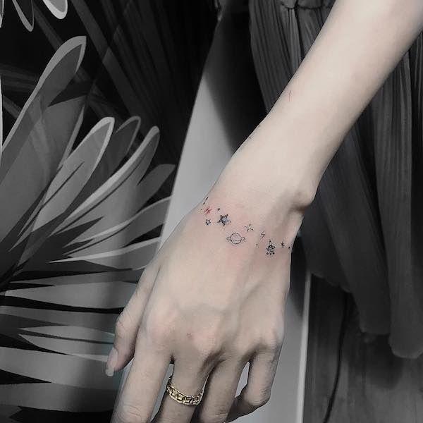 Tatuaggi Piccoli Polso: 45 Idee Originali, Scritte ...