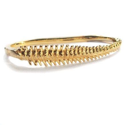 verameat | spine duster ring in brass
