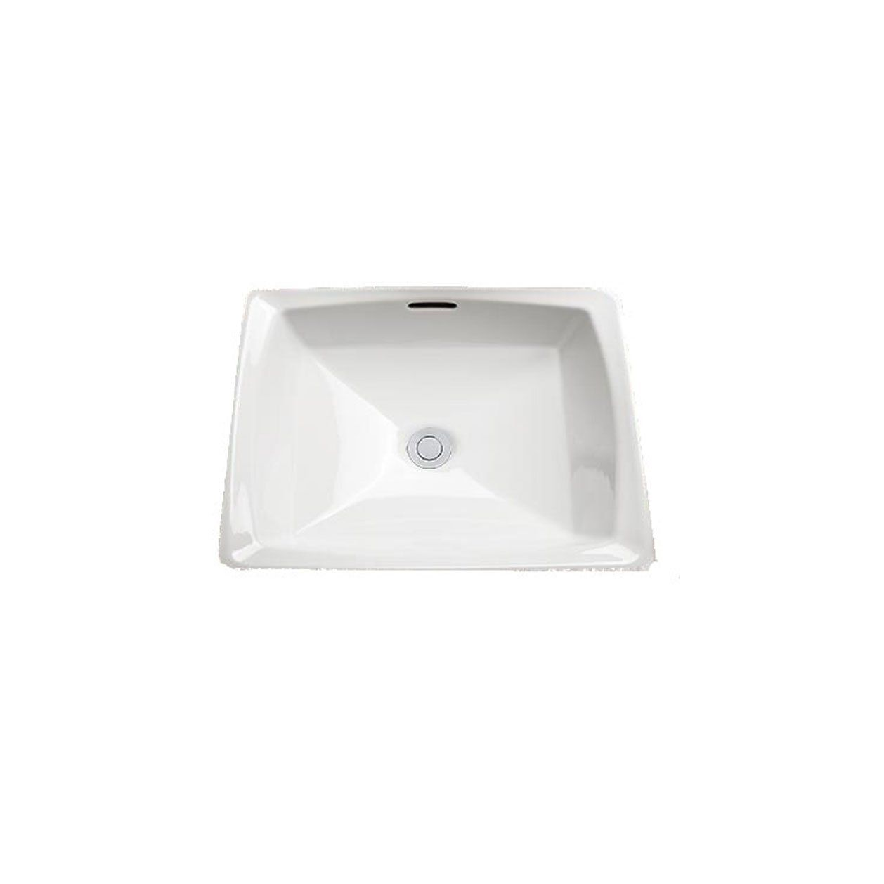 Toto Lt491g 1 Connelly Vitreous China Undermount Square Bathroom Sink 17 L X 17 W X 7 5 H Colonial White Square Bathroom Sink Sink Bathroom Sink