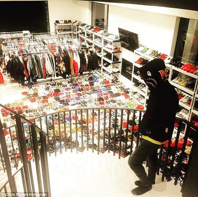 Chris Brown Wardrobe January 2017