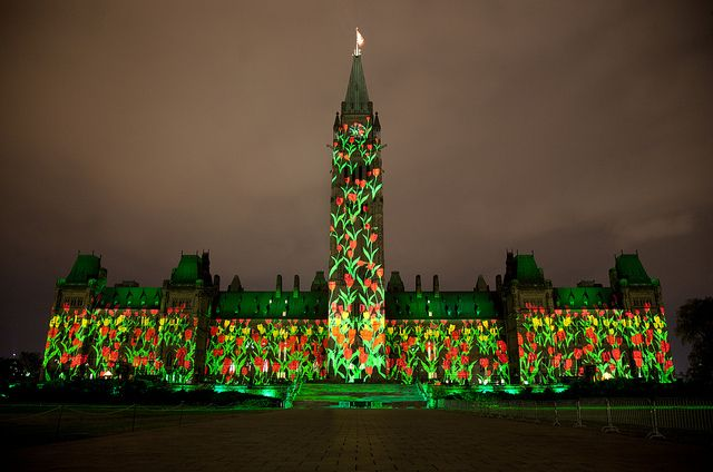 Mosaika – 2013 Sound and Light Show – Mosaika – Spectacle son et lumière 2013 by Canada's Capital - Capitale du Canada, via Flickr