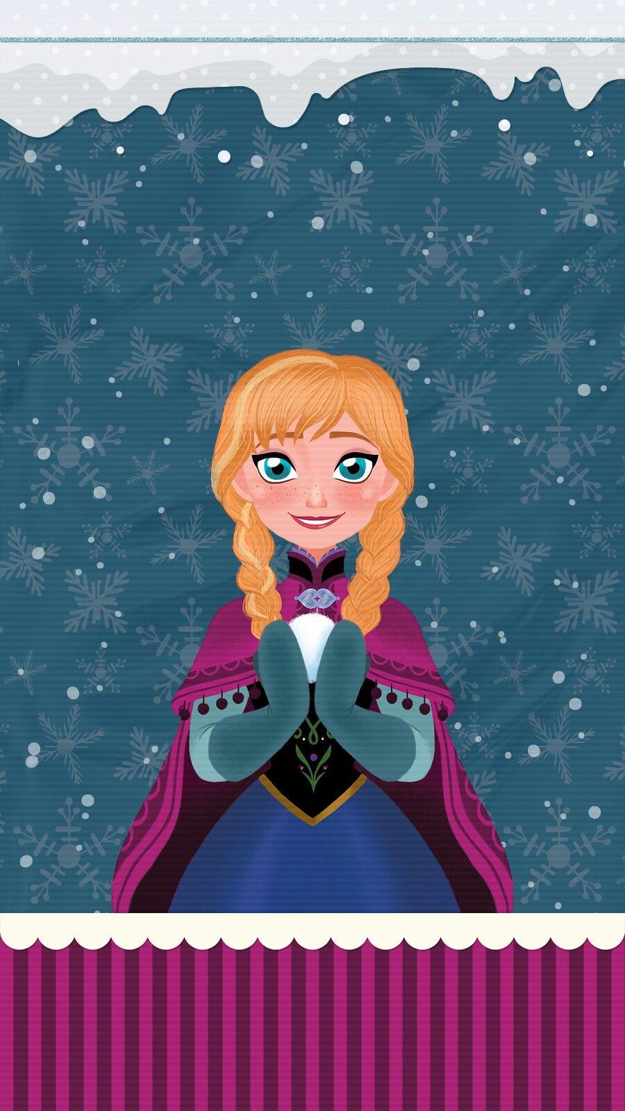 frozen #anna #elsa #wallpaper #iphone #android | cute wallsme