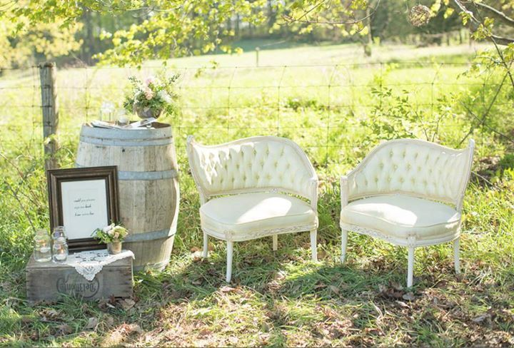 OUR GREAT GATSBY CHAIRS in the great outdoors!  Happily Ever After Events Inc.