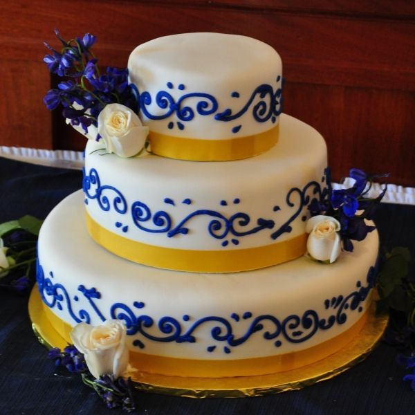 Wedding Cake Ideas Royal Blue: Royal Blue Wedding Cake - Bing Images