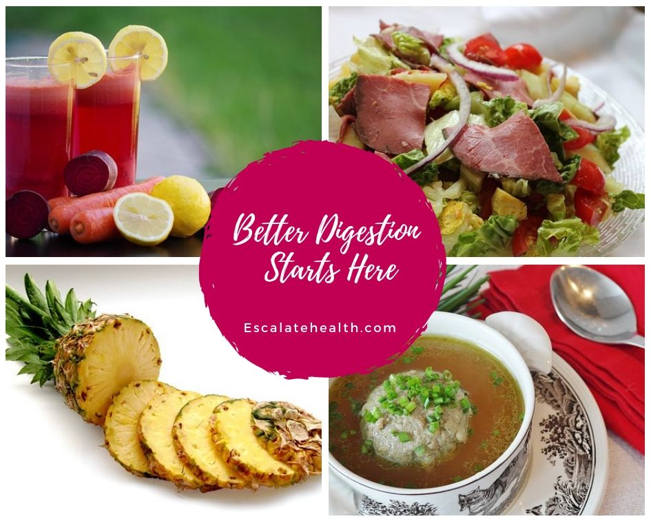 Better digestion starts here healthy healthy eating eat