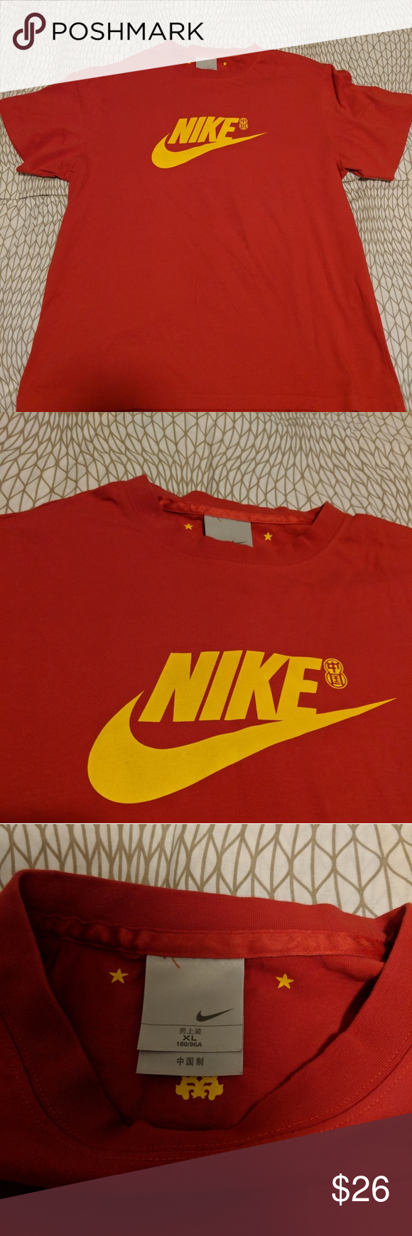 skate shoes factory authentic so cheap NIKE China Flag Designed T-Shirt NIKE China Flag Designed T ...