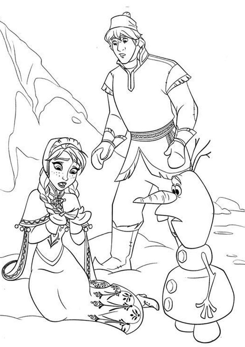 Kolorowanka Dla Dzieci Disney Kraina Lodu Frozen Coloring Pages Frozen Coloring Coloring Pages