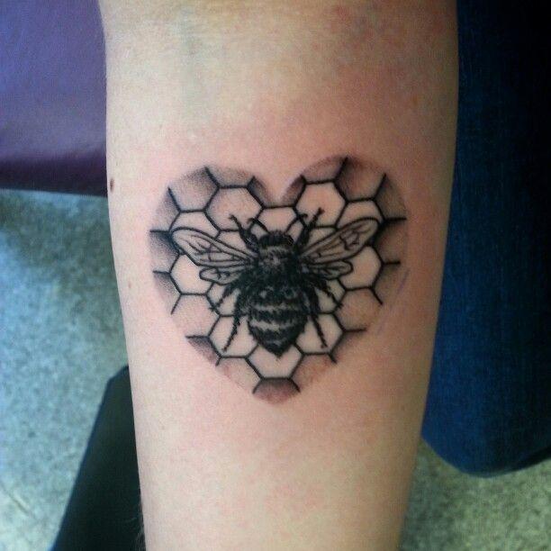 Bee Tattoo On Pinterest