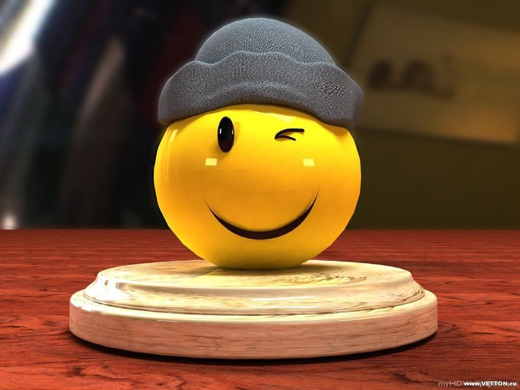 Awesome Smiley Wallpapers Wallpaper