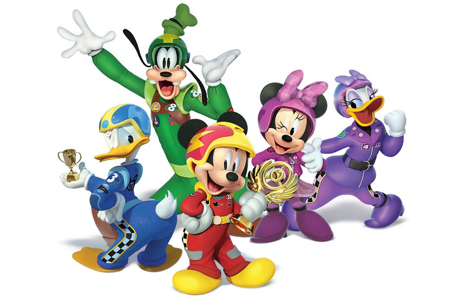 All New Mickey And The Roadster Racers Drives Friendship Home