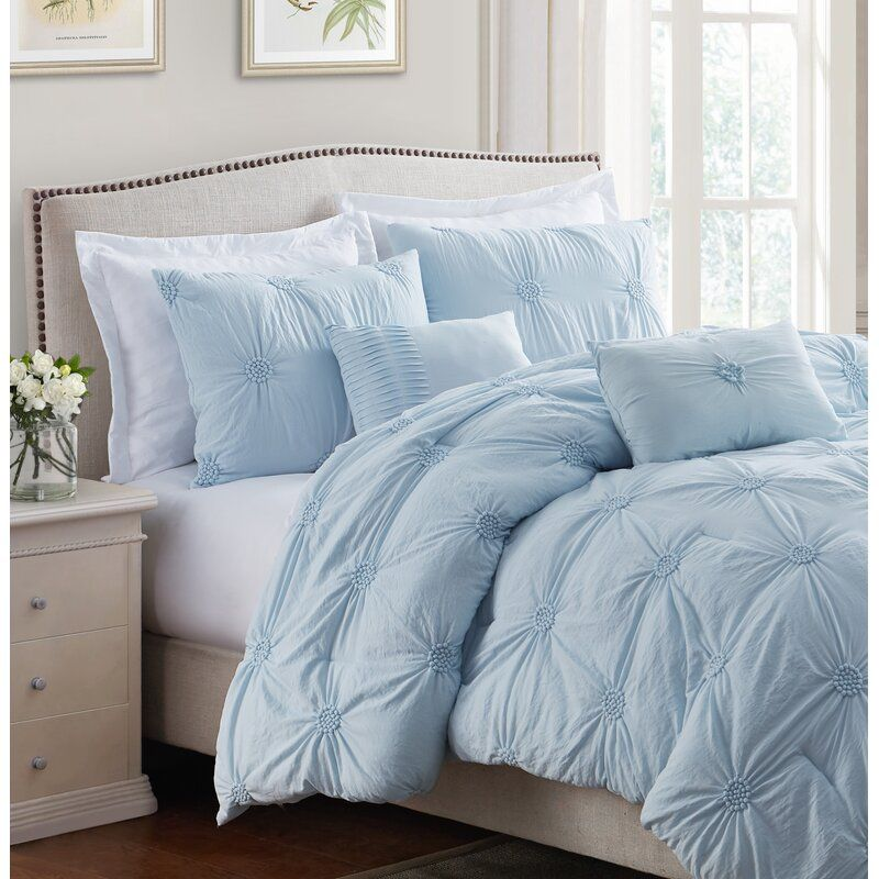 Beckman Luxurious Comforter Set In 2020 Bed Comforter Sets