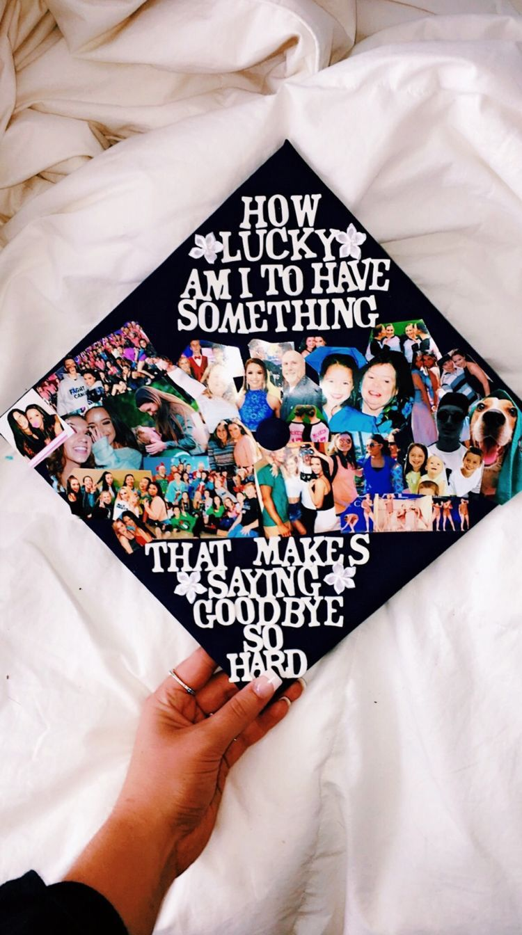 ✰P I N T E R E S T : @annaxlovee✰  High school graduation cap