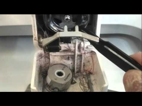 How to properly oil your hook on your embroidery machine