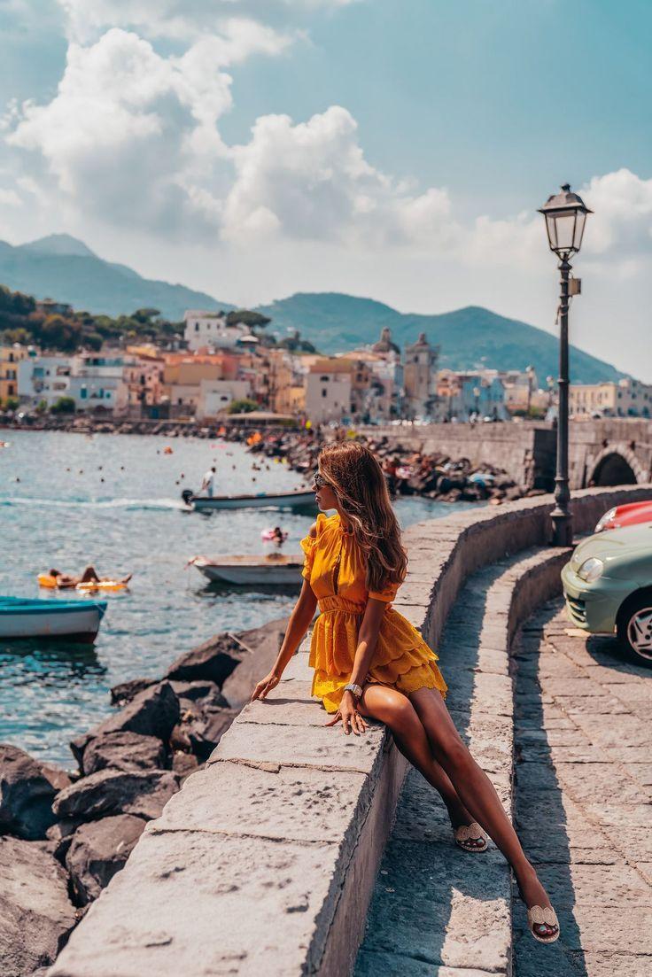 A Day in Ischia (VivaLuxury) - #Day #girl #Ischia #VivaLuxury #travelnorthamerica