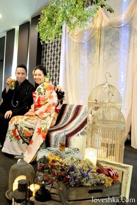 43fa81422 和婚 / 高砂 / ディスプレイ / 福島県 / キャンドル / ウェディング / 結婚式 / wedding / オリジナルウェディング /  プティラブーシュカ